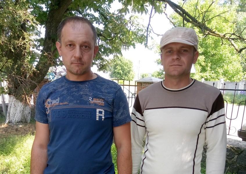 Микола Козир та Олександр Омельченко